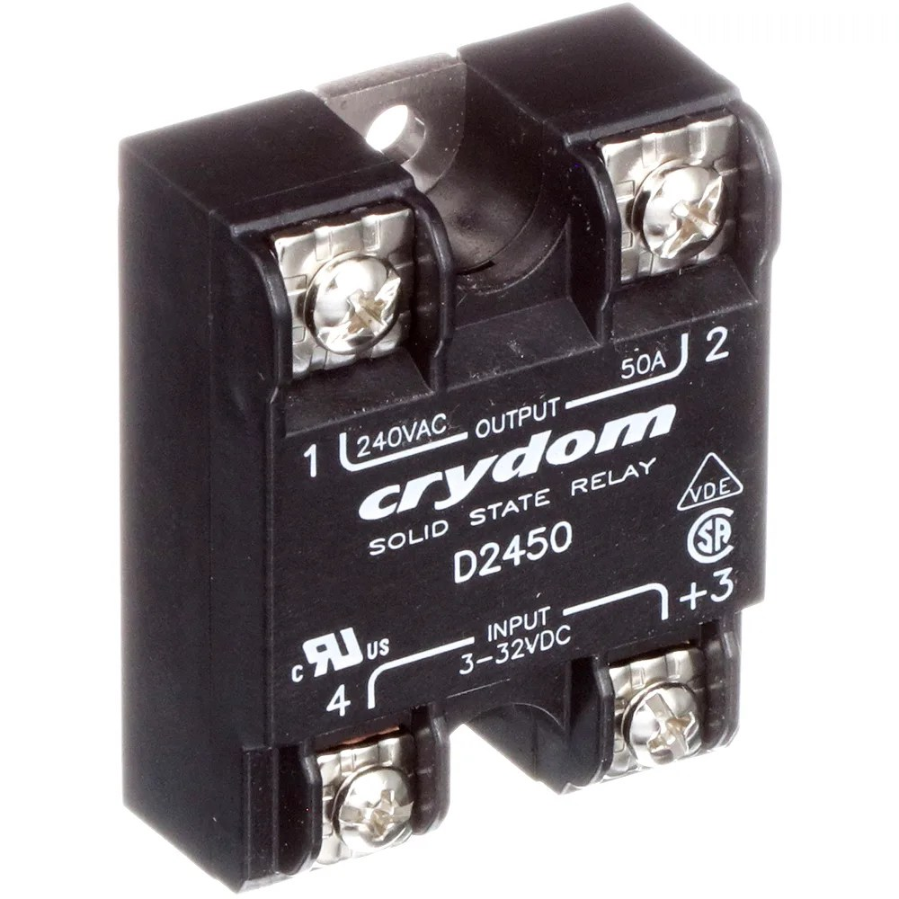 hight resolution of sensata crydom d2450 relay ssr zero switching spst no cur rtg 50a ctrl v 3 32dc vol rtg 24 280ac allied electronics automation
