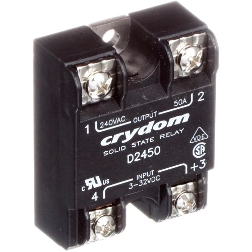 small resolution of sensata crydom d2450 relay ssr zero switching spst no cur rtg 50a ctrl v 3 32dc vol rtg 24 280ac allied electronics automation