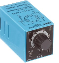 idec corporation rte p1af20 relay ssr timing multi function dpdt cur rtg 10a ctrl v 100 240ac pcb mnt 8 pin allied electronics automation [ 2500 x 2500 Pixel ]