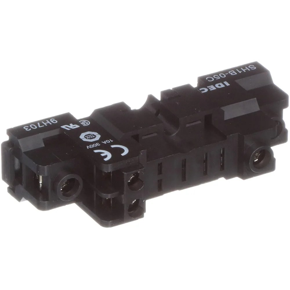 hight resolution of idec corporation sh1b 05c socket relay finersafe 5 blade