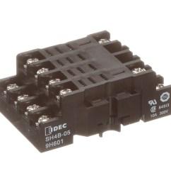 idec corporation sh4b 05 socket relay 14 4 din rail 10 a 100 megohms insulation resistance m3 5 allied electronics automation [ 2500 x 2500 Pixel ]