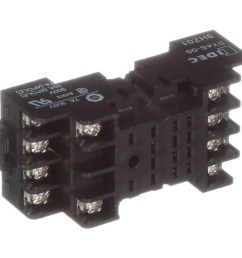 idec corporation sy4s 05 relay socket 14 pin 4 pole 7 a din rail m3 screw gt5y series allied electronics automation [ 2500 x 2500 Pixel ]