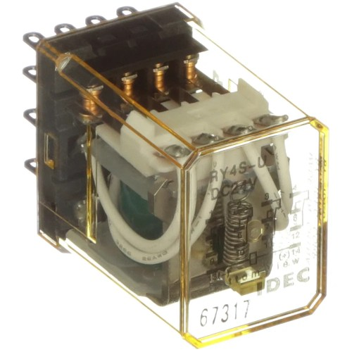 small resolution of idec corporation ry4s udc24v relay e mech gen purp