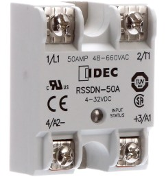 idec corporation rssdn 50a relay ssr zero switching spst no cur rtg 50a ctrl v 4 32dc vol rtg 48 660ac allied electronics automation [ 2500 x 2500 Pixel ]