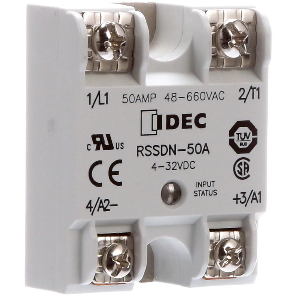 medium resolution of idec corporation rssdn 50a relay ssr zero switching spst no cur rtg 50a ctrl v 4 32dc vol rtg 48 660ac allied electronics automation