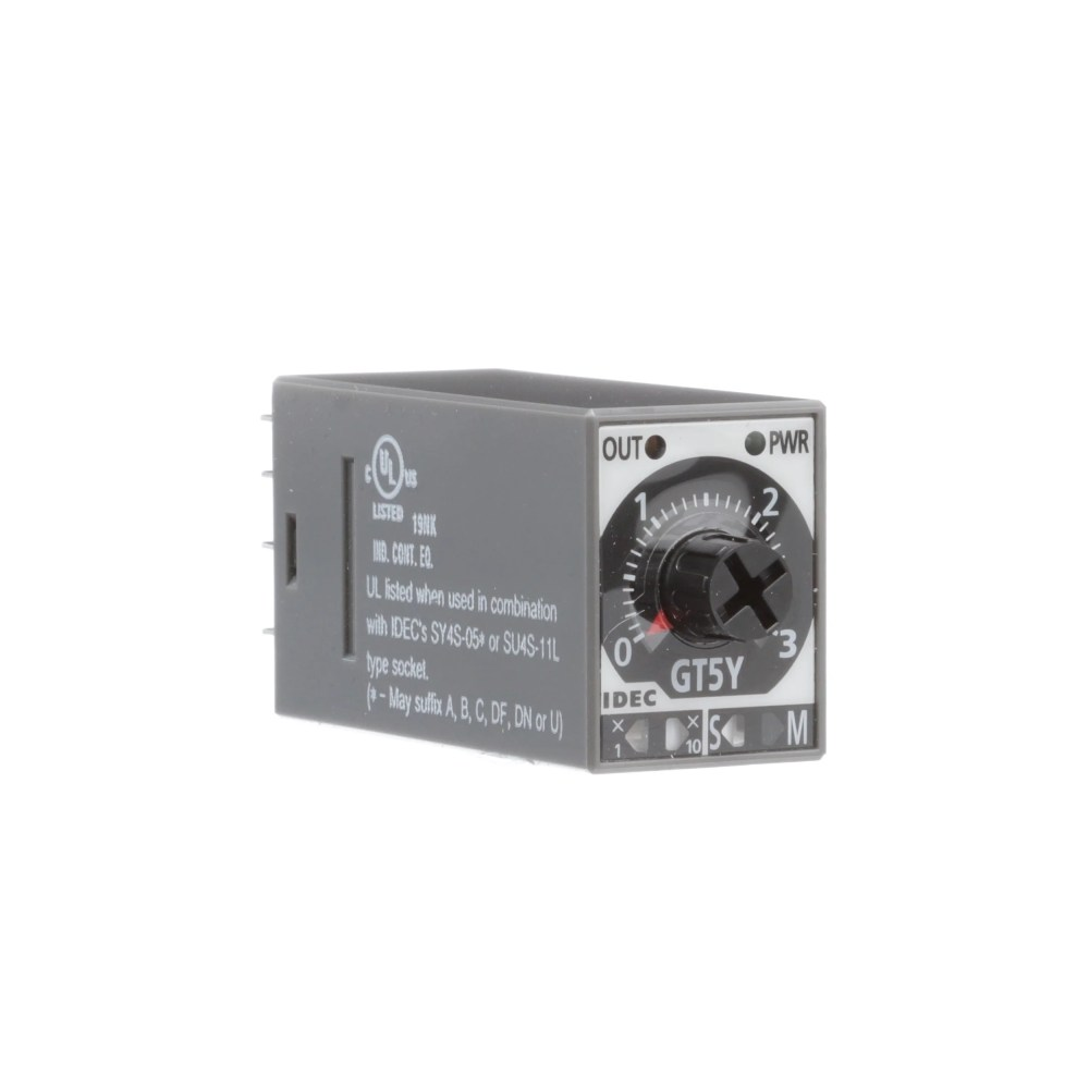 medium resolution of idec corporation gt5y 4sn3a100 relay e mech timing on delay 4pdt cur rtg 3a ctrl v 100 120ac plug in solder allied electronics automation