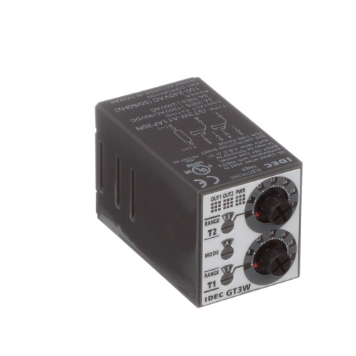 small resolution of idec corporation gt3w a11af20n relay ssr timing multi function spdt cur rtg 5a ctrl v 100 240ac socket mnt allied electronics automation