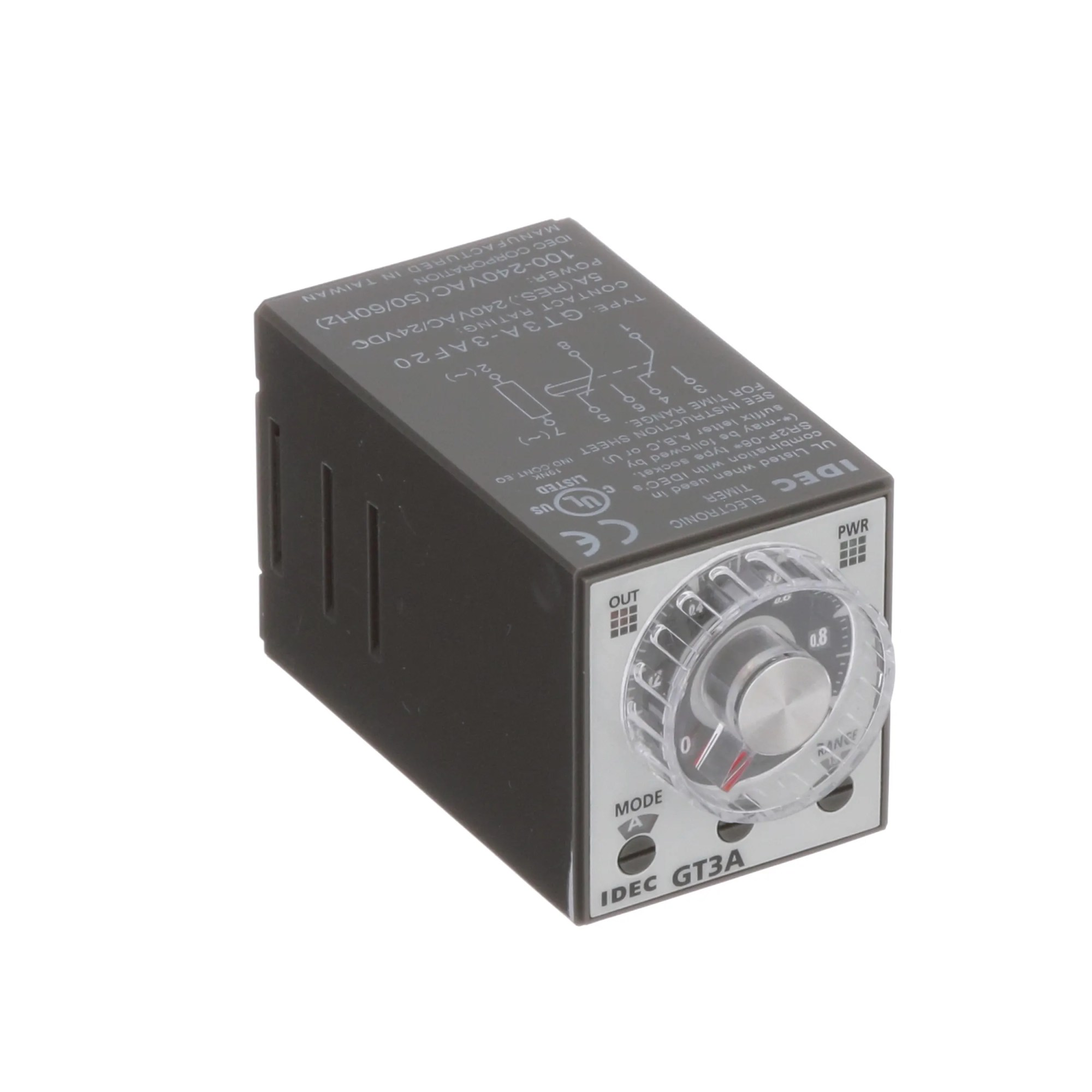hight resolution of idec corporation gt3a 3af20 relay e mech timing multimode dpdt cur rtg 5a ctrl v 100 240ac 250vac socket mnt allied electronics automation