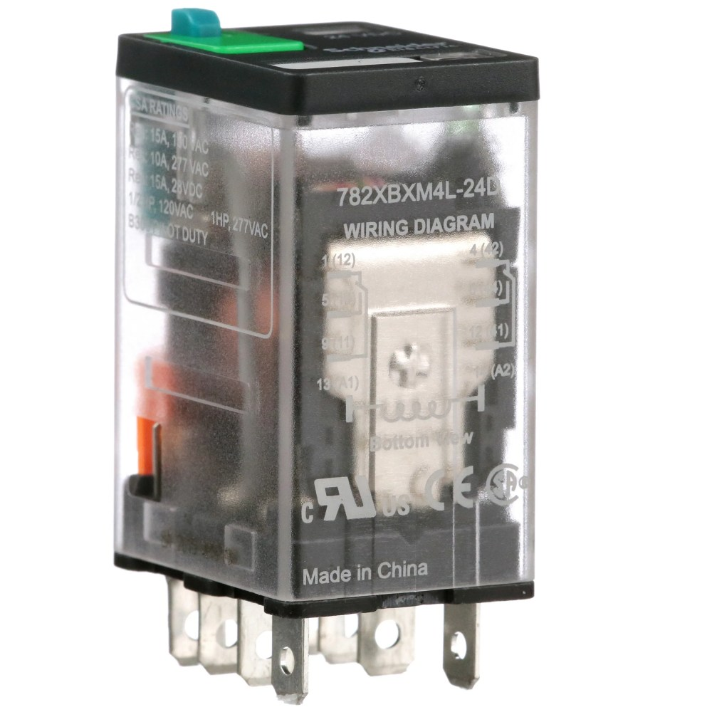 medium resolution of schneider electric legacy relays 782xbxm4l 24d