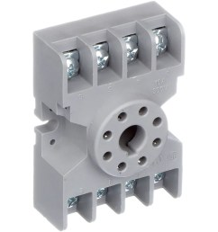 te connectivity 27e122 relay socket 8 pin octal 2 pole for krp and krpa series allied electronics automation [ 2500 x 2500 Pixel ]