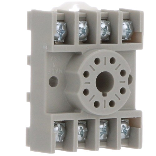 small resolution of te connectivity 27e891 relay socket 8 pin octal 2 pole screw din rail mount allied electronics automation