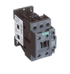 siemens 3rt20261ak60 sirius 3rt 3 pole contactor 25 a 11 kw 110 v ac 50 hz 120 v ac 60 hz coil allied electronics automation [ 2500 x 2500 Pixel ]