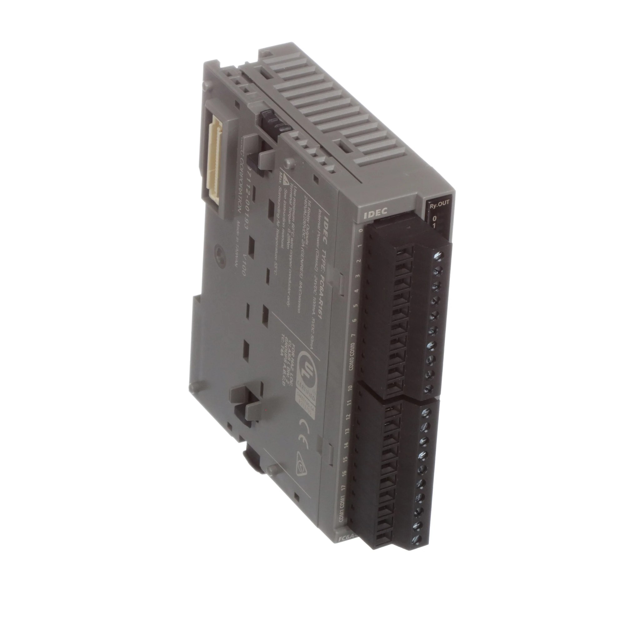hight resolution of idec corporation fc6a r161 module fc6a series microsmart 24 vdc input 16 inputs relay screw allied electronics automation