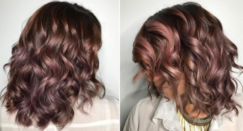 Chocolate Mauve: A nova tendência para colorir cabelos com elegância