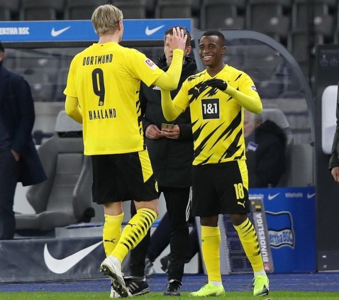 هالاند وموكوكو في الدوري الالماني