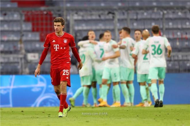 ترتيب الدوري الألماني بعد فوز دورتموند وتعثر بايرن ميونخ