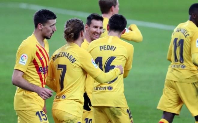 بيدري يُبدع في مباراة أتلتيك بيلباو ضد برشلونة