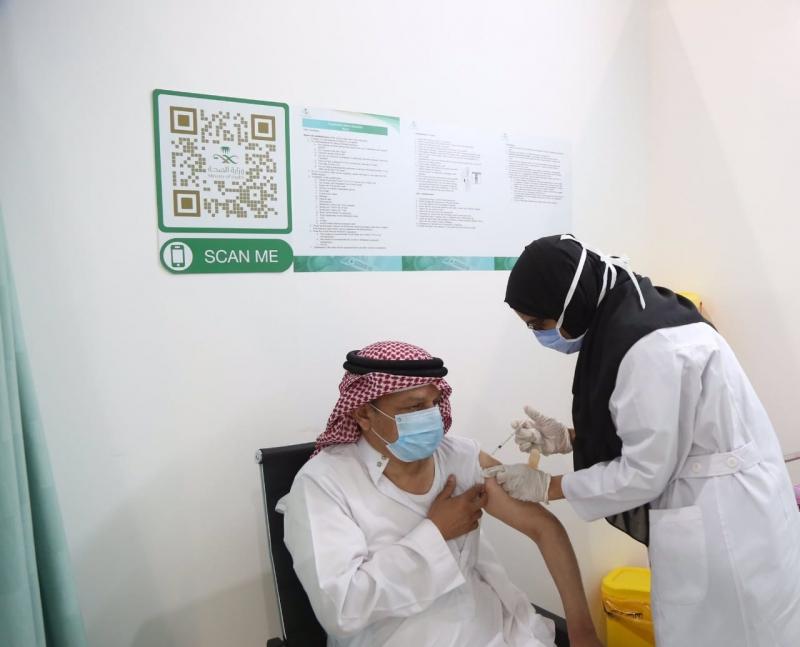 بدء إعطاء لقاح كورونا في مركز اللقاحات بمقر جامعة أم القرى - المواطن