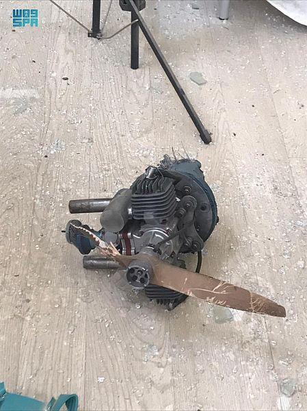 تضرر مدرسة في عسير بعد سقوط الدرون الحوثية المفخخة - المواطن