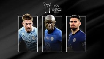 افضل 3 لاعبين في اوروبا - يويفا