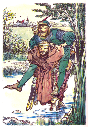 A picture for the book The Merry Adventures of Robin Hood