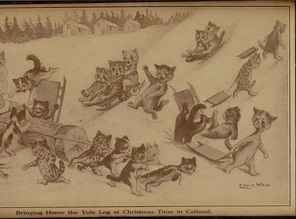 Catland by Louis Wain (1910)