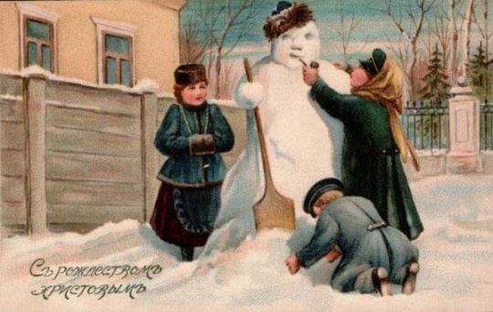 Russian Snowman (1900)