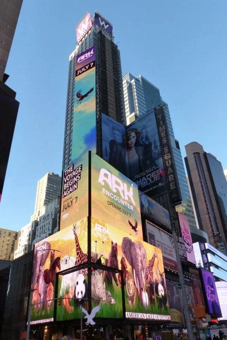 Times Square at Day