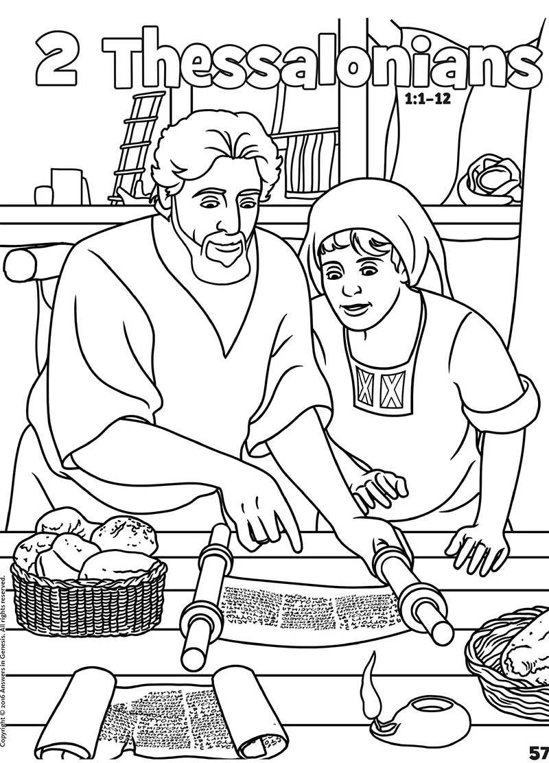 Joel And Obadiah Coloring Coloring Pages