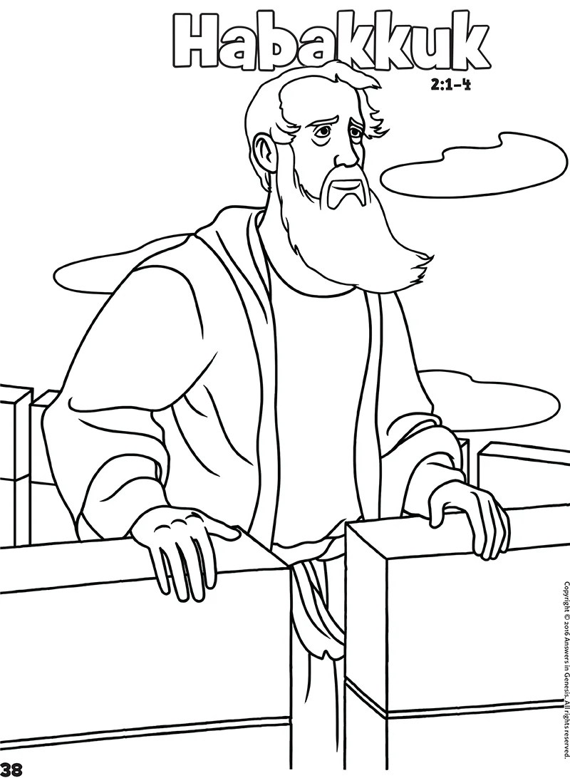 Zephaniah Coloring Page Coloring Pages
