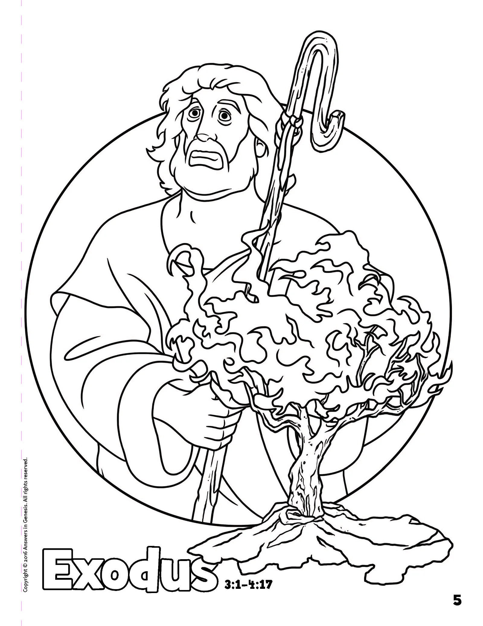 Exodus Coloring Coloring Pages
