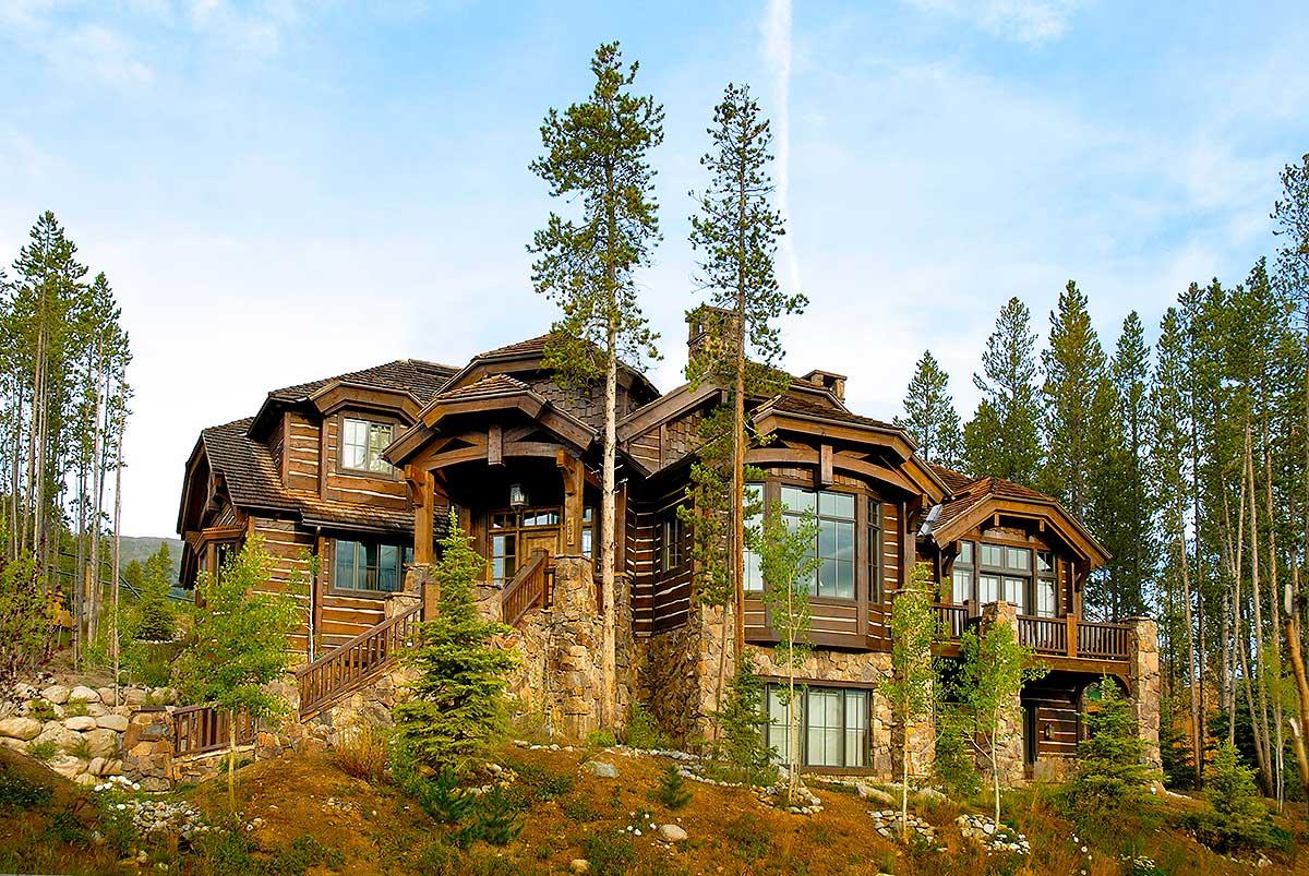 Luxury Mountain Retreat - 11574kn Architectural Design
