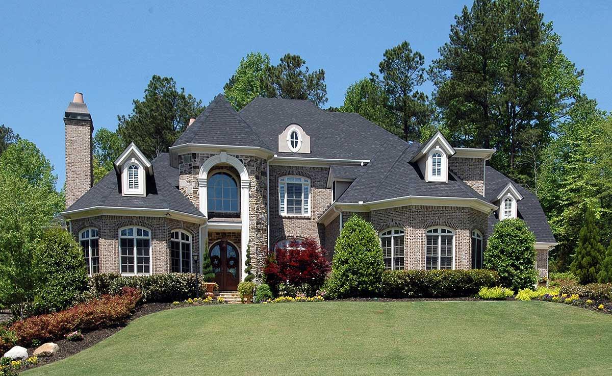 Impressive Brick And Stone 15661ge Architectural Designs House Plans