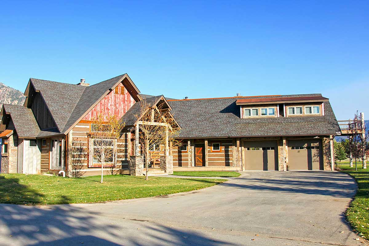 4 Bedroom Mountain Style Retreat 18261be Architectural