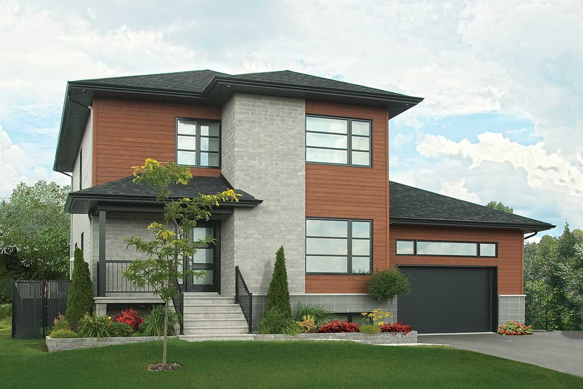 Winning Modern Combination - 22305dr Architectural