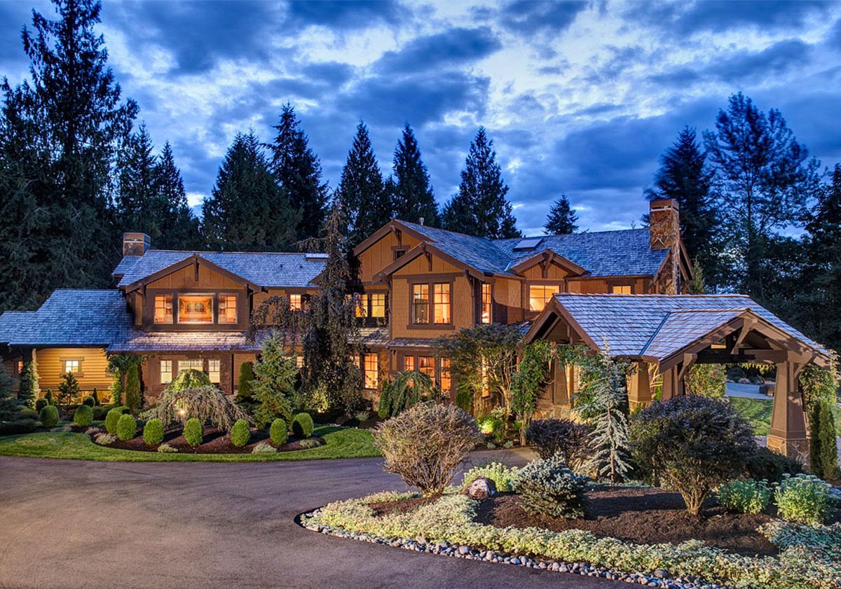Luxury Craftsman Home Plan 23299jd Architectural
