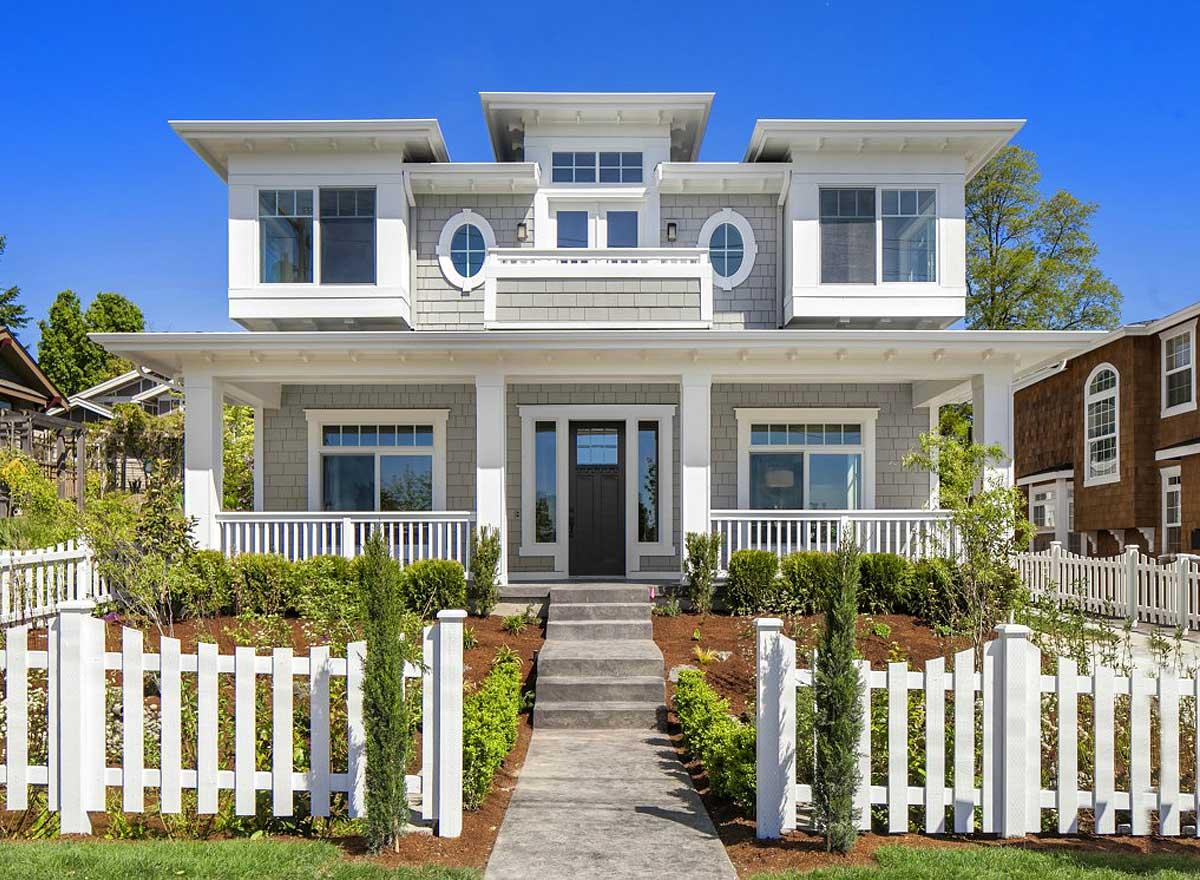 Unique Shingle Style House Plan - 23592jd Architectural