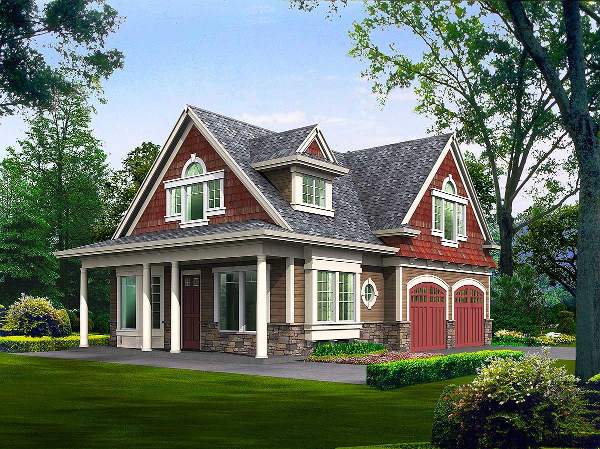 Cute Cottage Escape - 2392jd Architectural Design