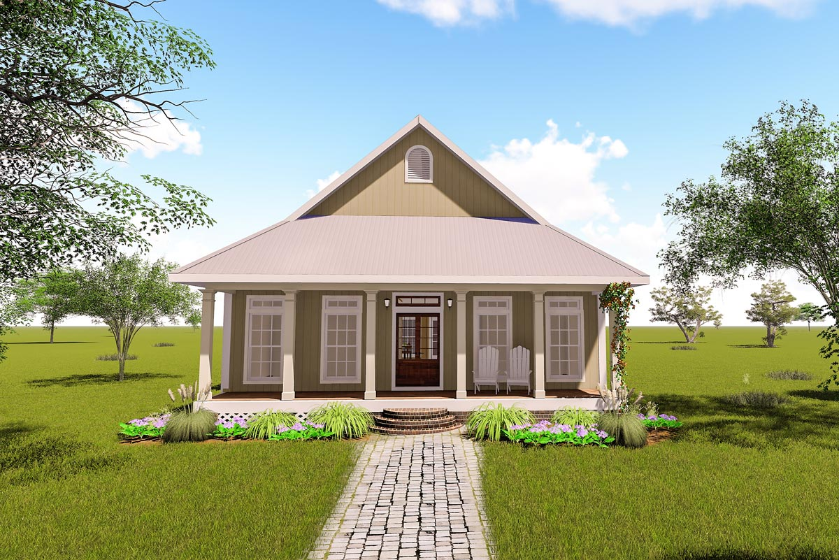 Small Plan Big Heart 2568dh Architectural Designs