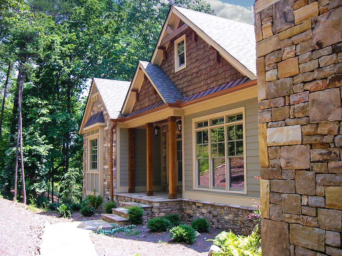 Rustic Style Ranch - 29830rl Architectural Design