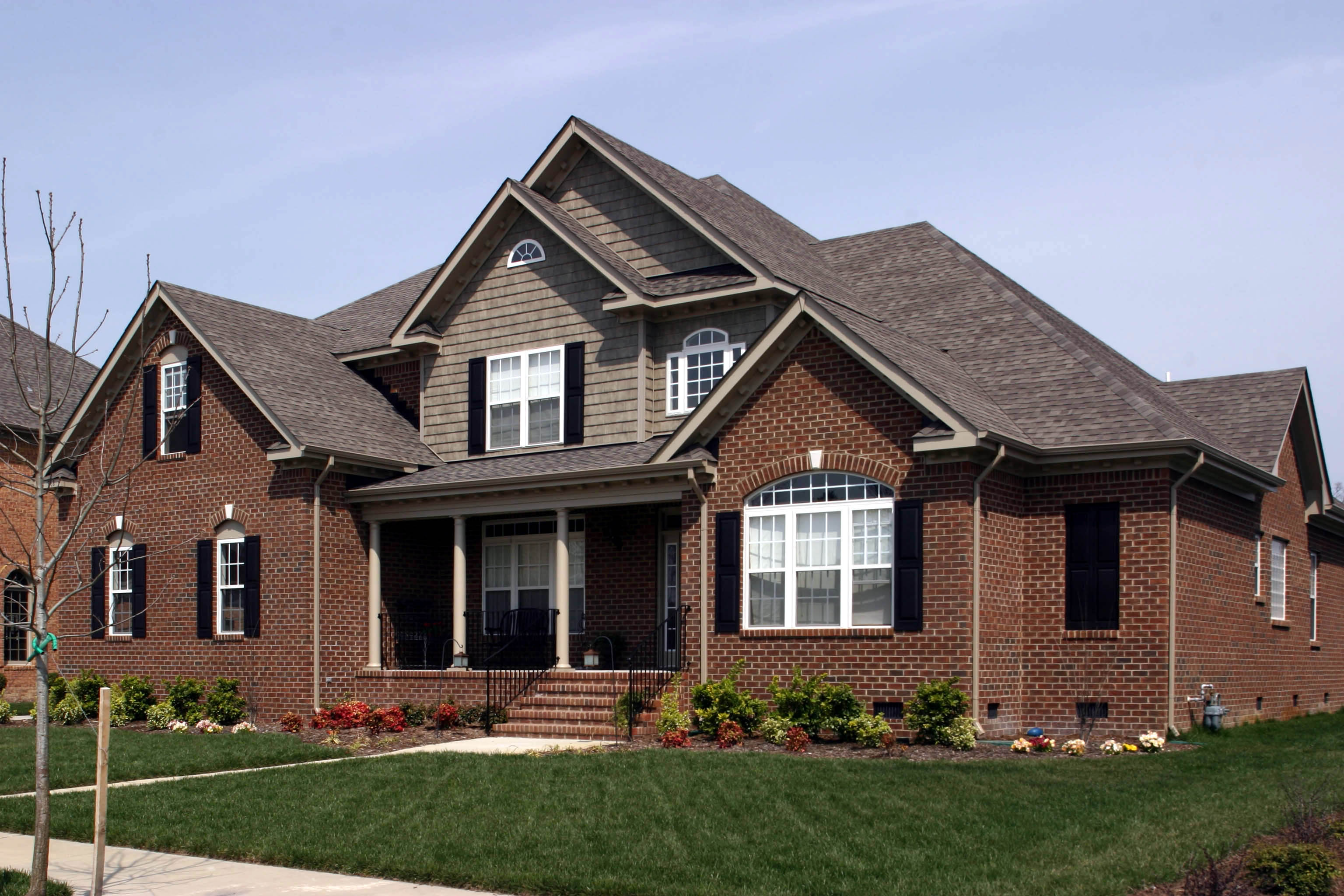 Traditional Home Plan With Brick Exterior - 30052rt