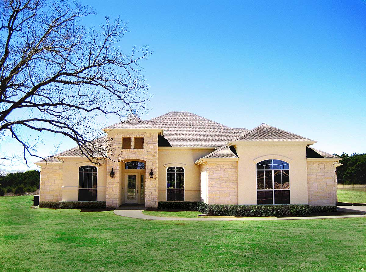 European Hill Country Delight - 31134d Architectural