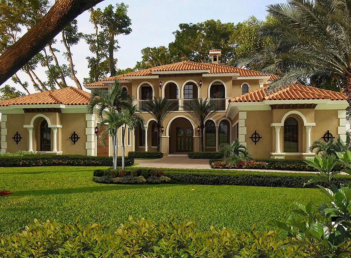 Mediterranean Opulence - 32237aa Architectural Design
