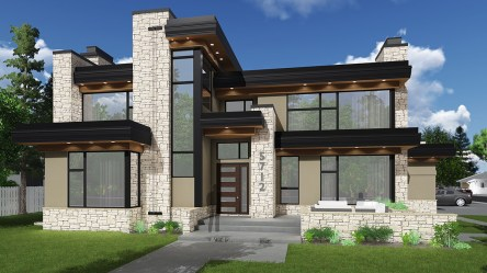 modern plans plan contemporary garage designs houses familyhomeplans floor homes architectural impeccable architecturaldesigns elevation square architecture designer sq ft bath
