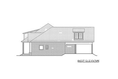 3 Bed Acadian Home Plan With Bonus Over Carport 51742hz