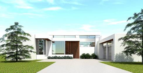 plan modern plans ultra bedroom designs front cypress cove luxury suites architectural patio houses architecturaldesigns open architecture living area