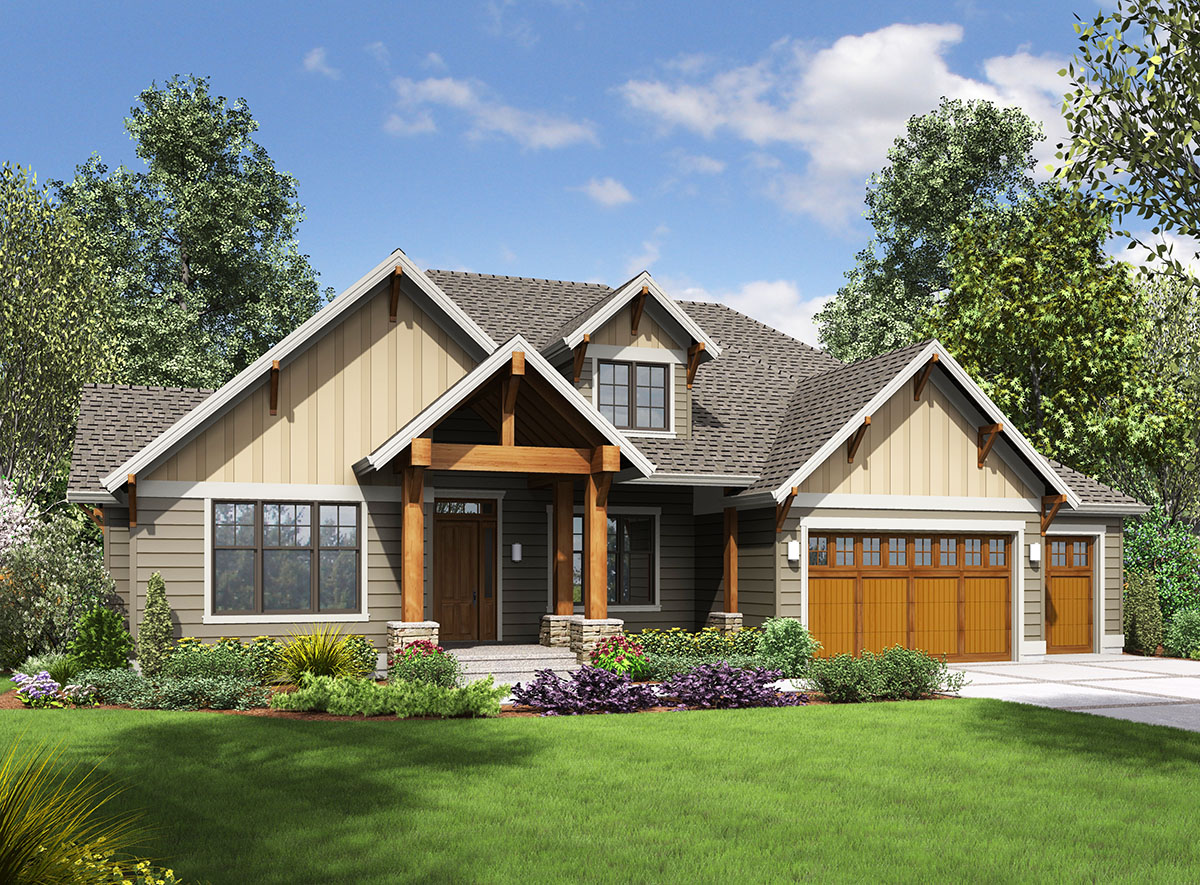 Story Craftsman With Finished Lower Level - 69642am