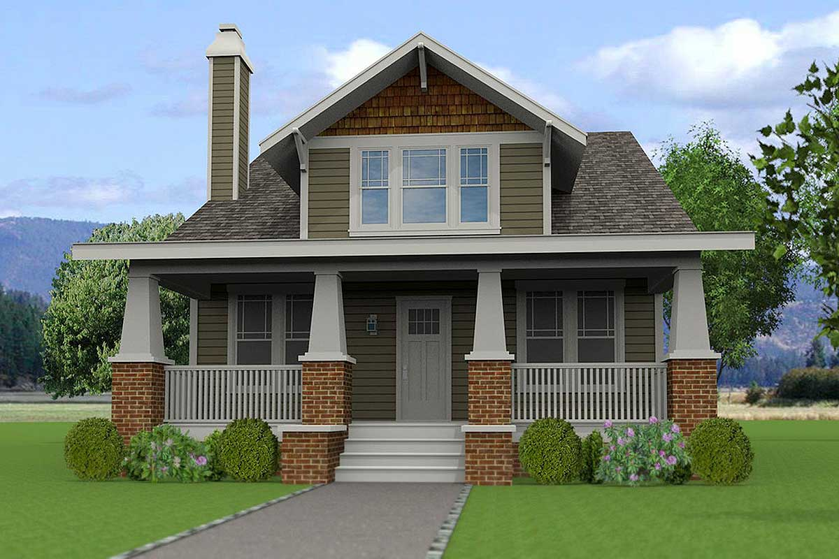 4 Bedroom Craftsman With Lots Of Options 50146ph