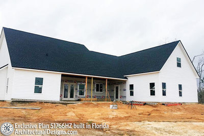 Exclusive Modern Farmhouse Plan 51766hz Comes To Life In