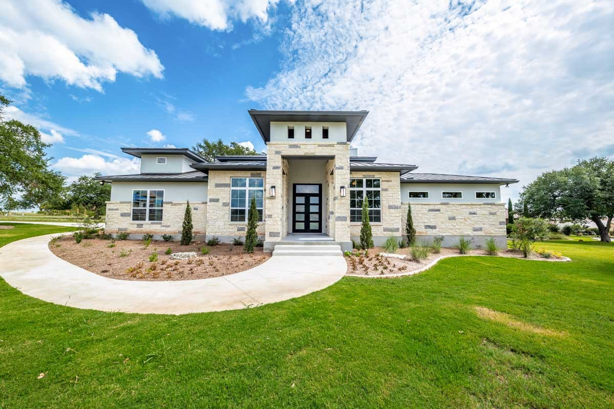 Hill Country House Plans - Architectural Design